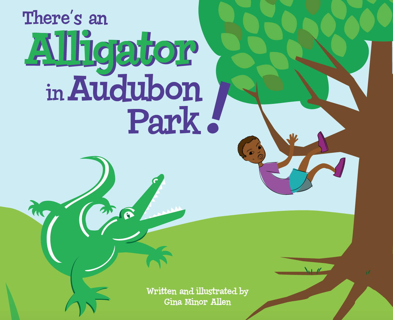 There's An Alligator in Audubon Park! Cover